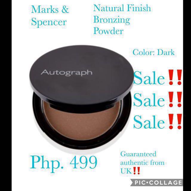 Marks & Spencer Natural Finish Bronzing Powder! 💁