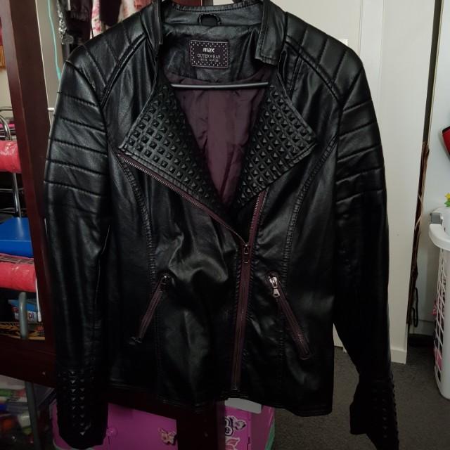 Max Leather Jacket