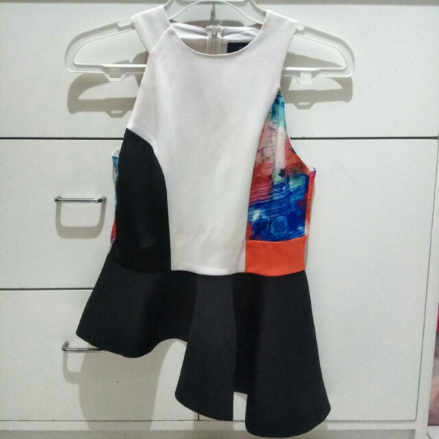 MDS Floral block flare top