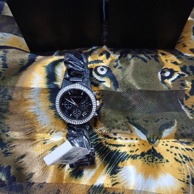 Michael kors陶瓷計時表