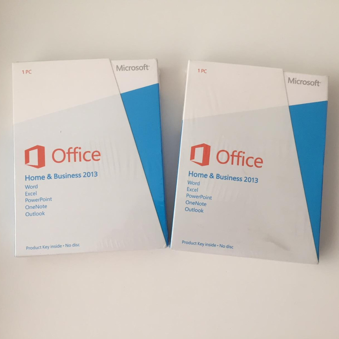 Microsoft Office Home & Business 2013 PKC (Product Key Card ...
