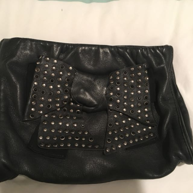 Mimco Bow Clutch