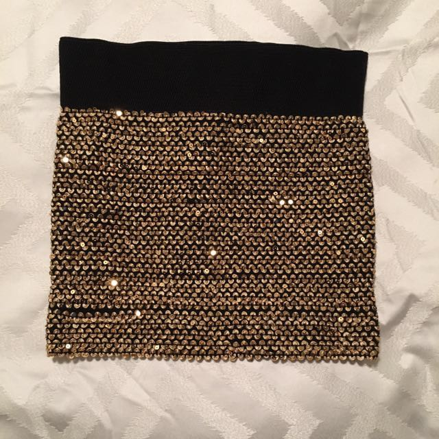 Mini Sequenced Skirt