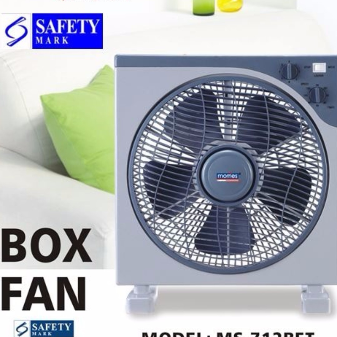 Morries MS-712BFT Box Fan with Timer, Electronics, Others on