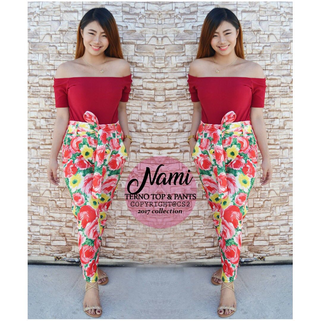 Nami Terno Top & Pants