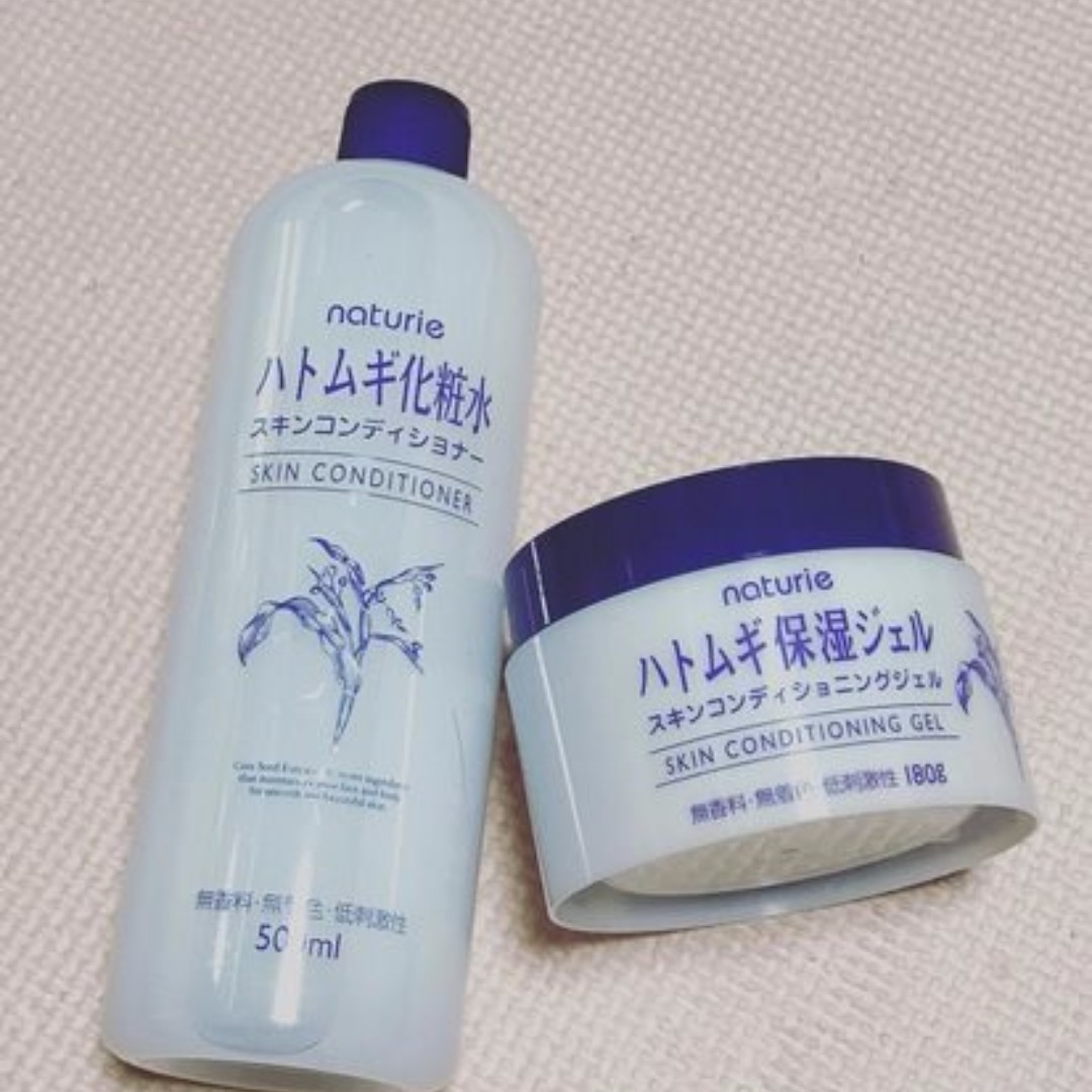 Naturie Skin Conditioning Gel 180g Japan Lotion Toner Hatomugi Conditioner 500ml 600ml Rm 76 Exc Postage Health Beauty Bath Body On Carousell