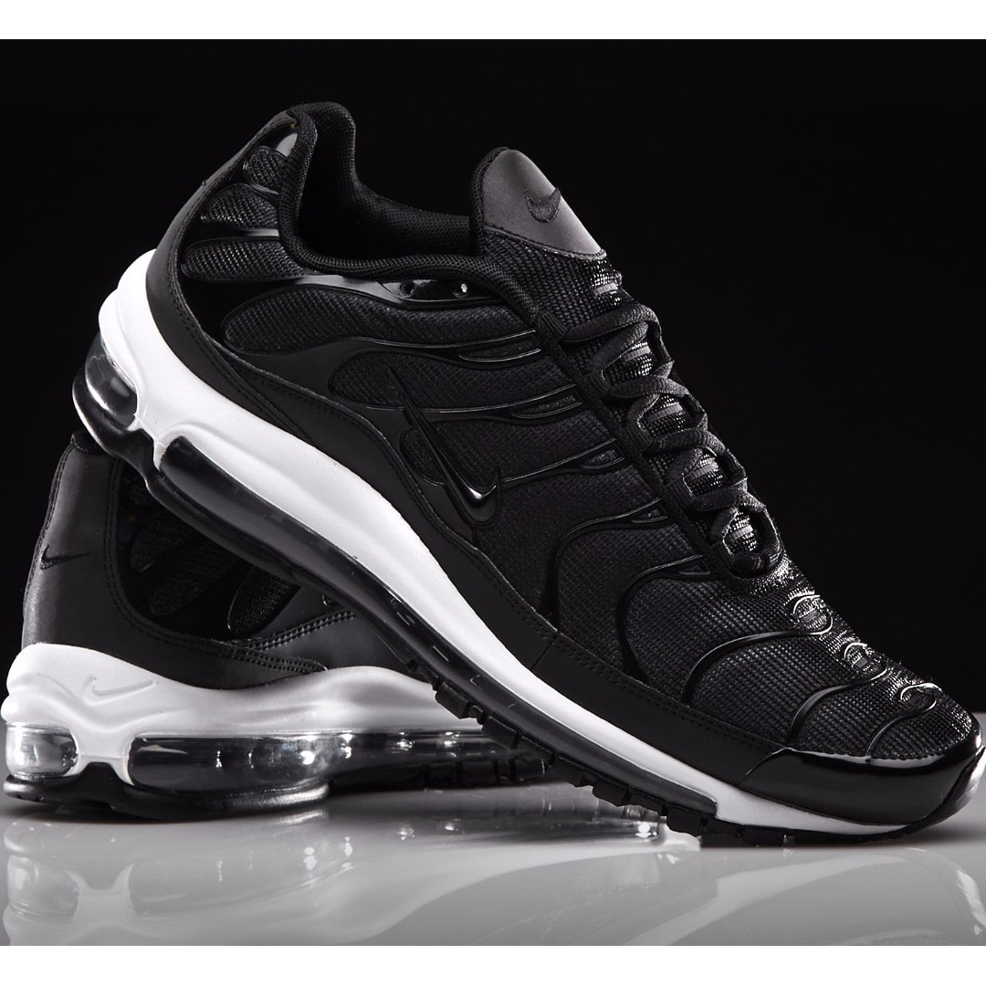 49568f89c94d NIKE AIR MAX 97 PLUS Black