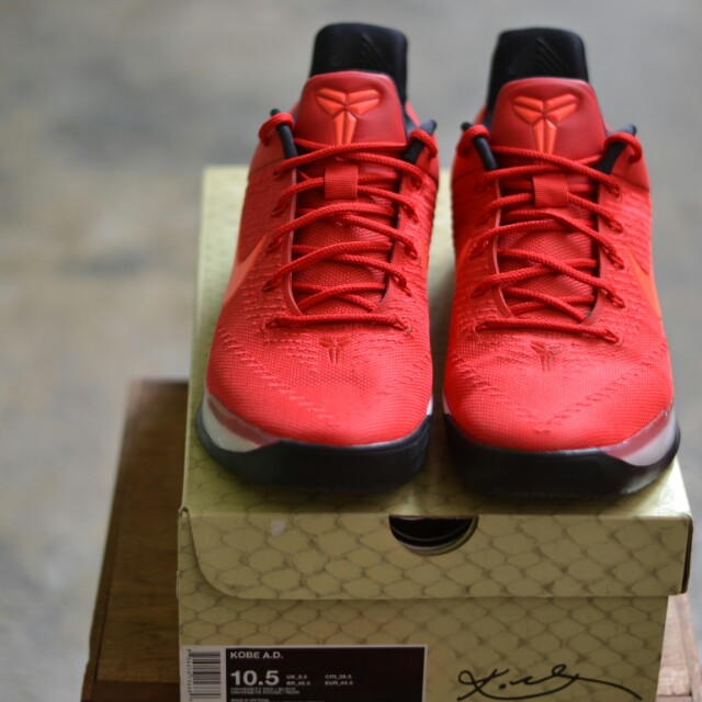 08f59cc4433b ... promo code for nike kobe ad university red sports athletic sports  clothing on carousell 74e37 9a2f9