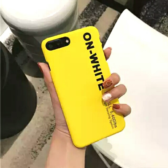 low priced 5dba9 6ac34 Off White Phone Hard Casing