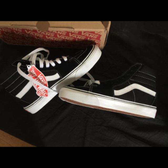 Old skool hi top vans