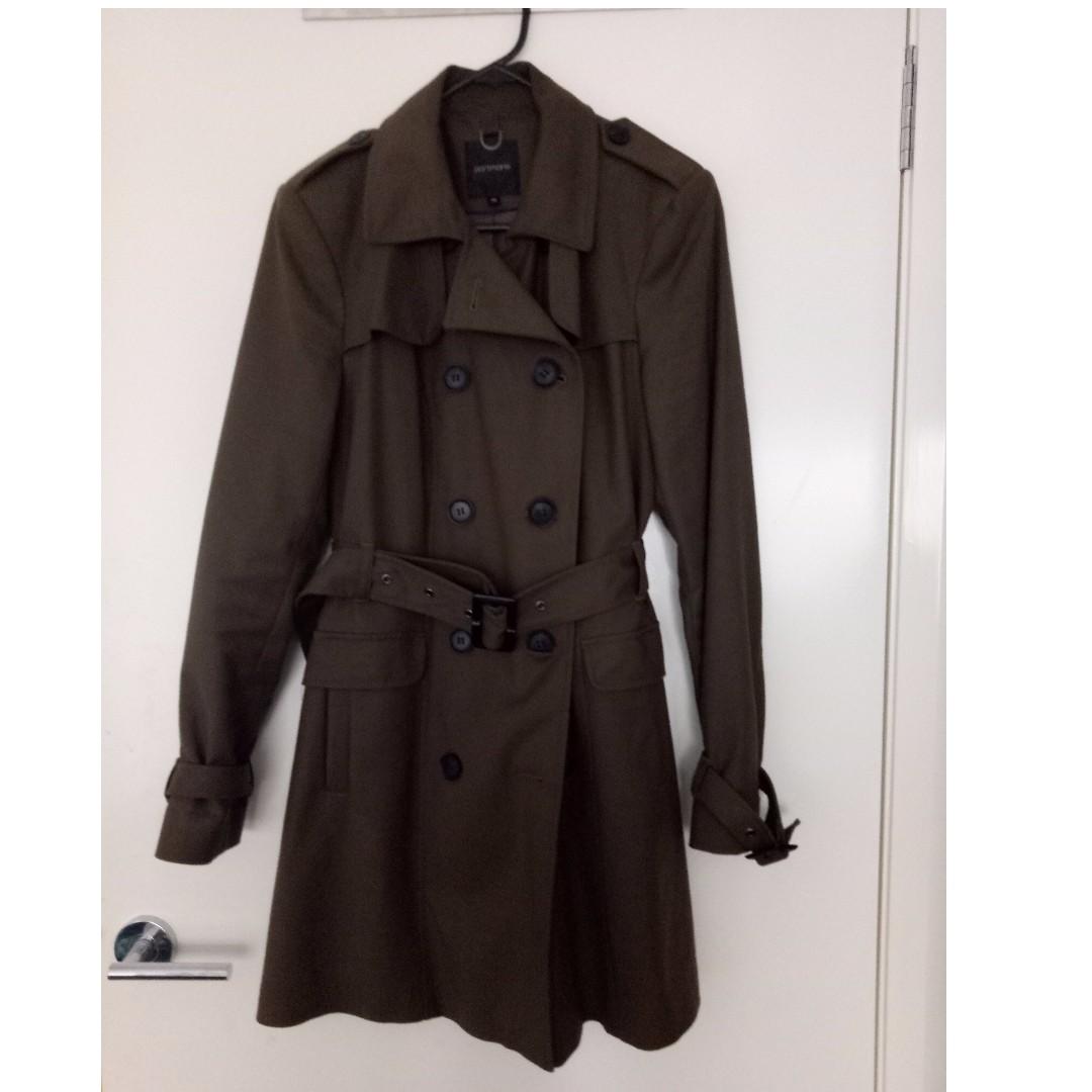 Olive/Khaki Classic Trench Coat