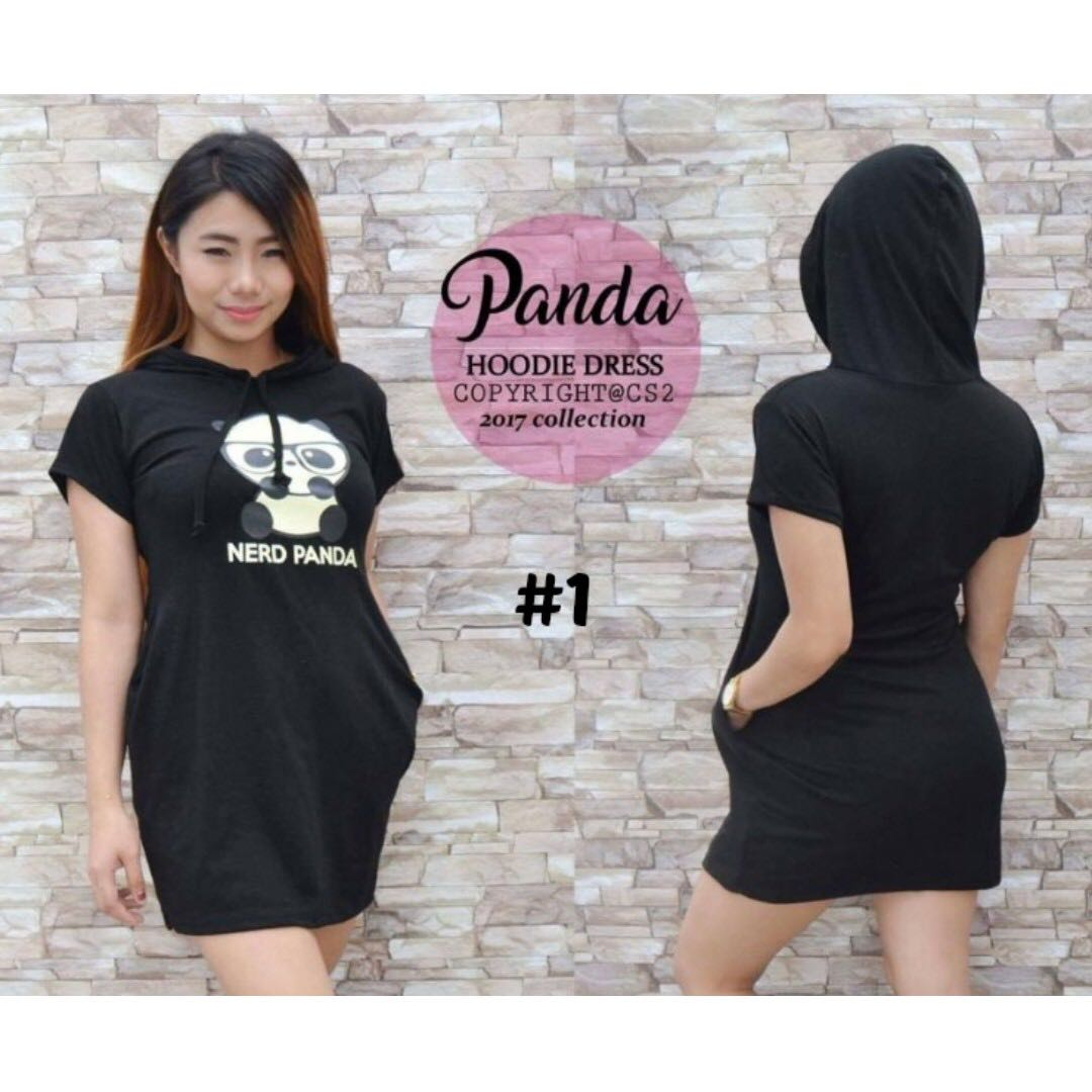 Panda Hoodie Dress