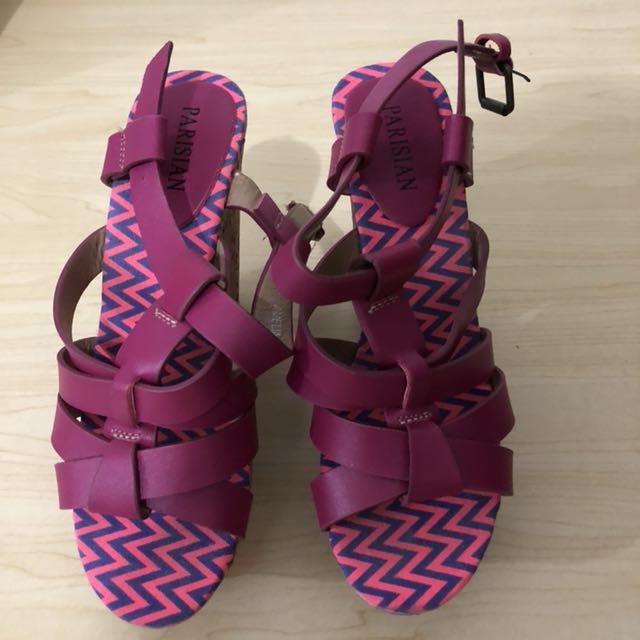 Parisian Cork Sandals