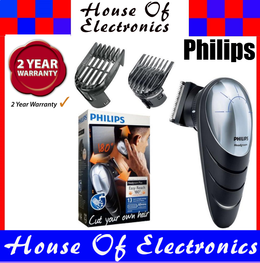 Philips qc557013 do it yourself hair clipper with 180 degree photo photo photo photo solutioingenieria Choice Image