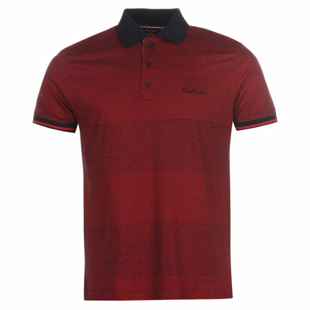 732a1c8f0 Pierre Cardin Pin Stripe Polo Shirt Mens XXL Brand New with tags ...