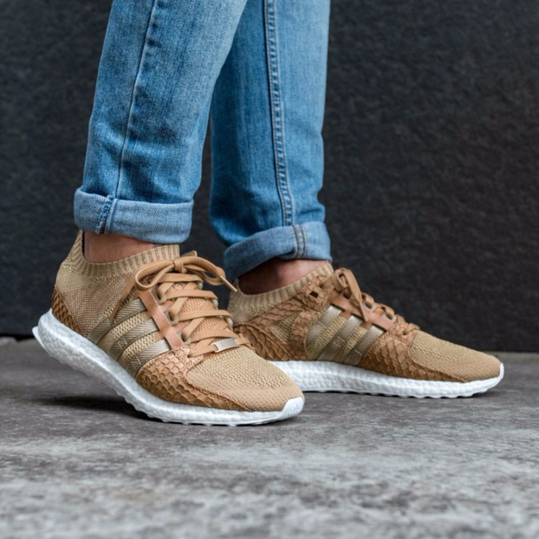 9e4ef83fec36 (PO) Adidas x King Pusha T Mens EQT Support Ultra PK Bodega Babies Brown