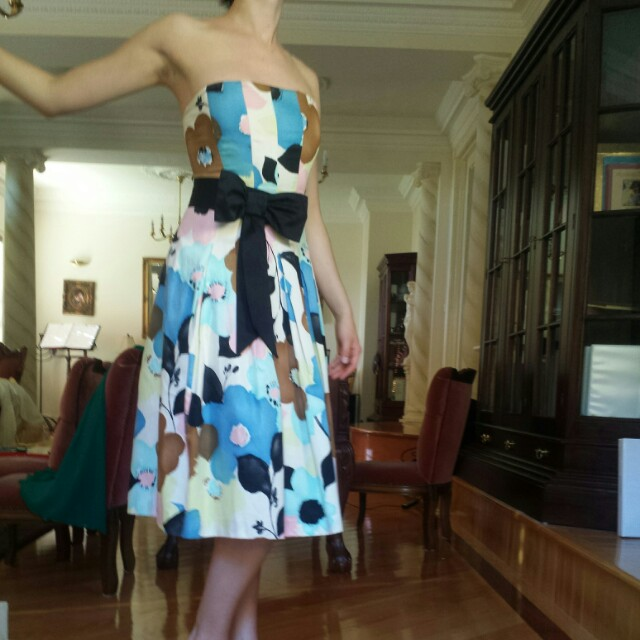 Portmans sleevelss floral dress