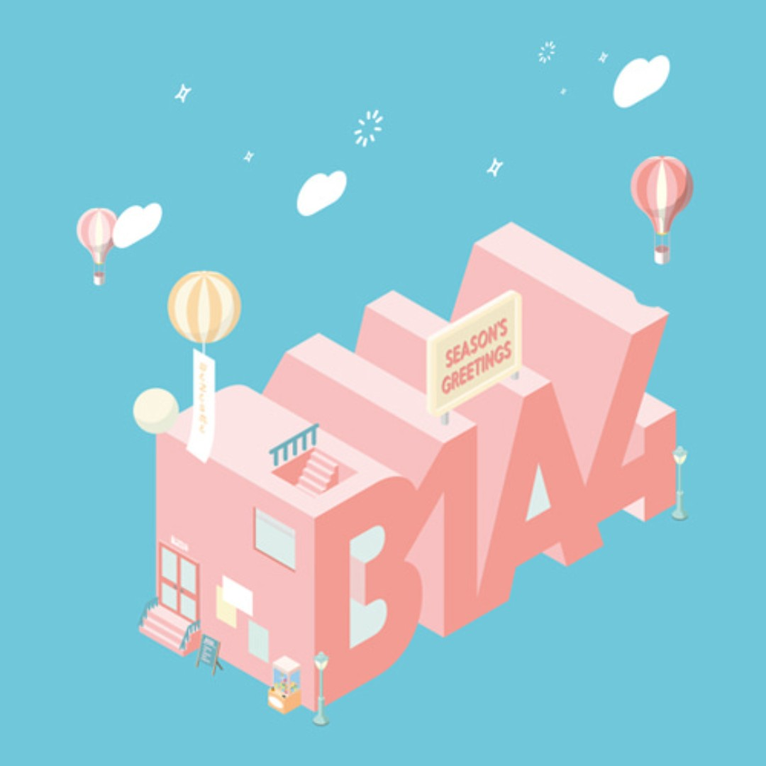[PREORDER] B1A4 2018 Season's Greetings