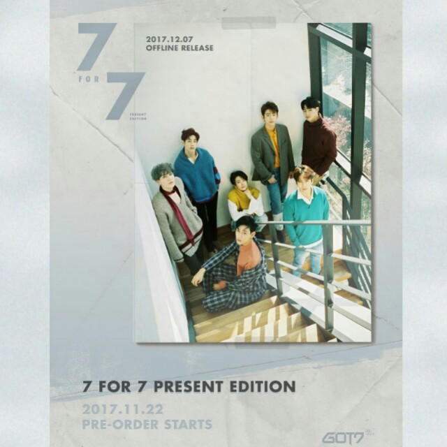 [PREORDER] GOT7 Present Edition - 7 For 7