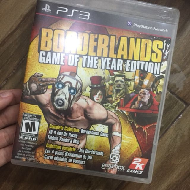 PS3 Borderlands: GOTY Edition