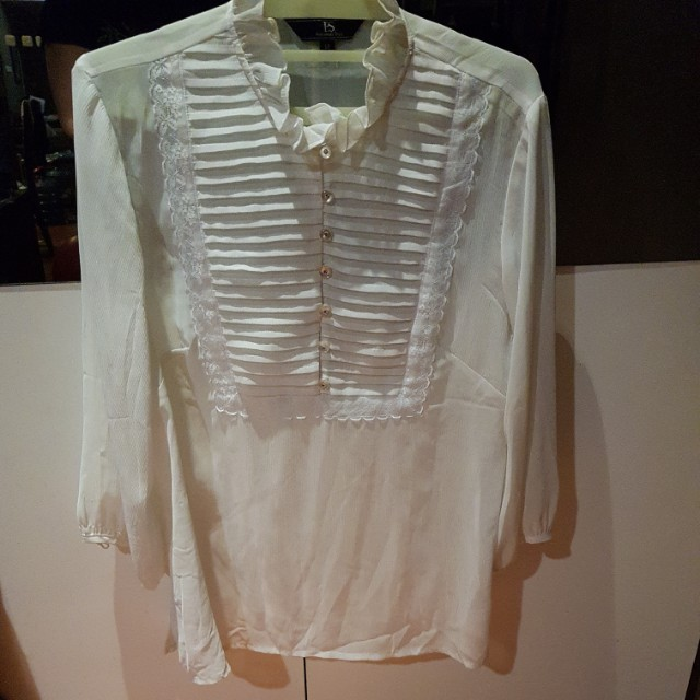 PS White Blouse