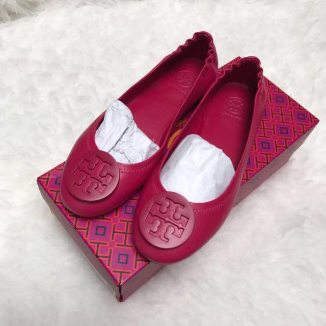 RE PRICE TB peony flat shoes
