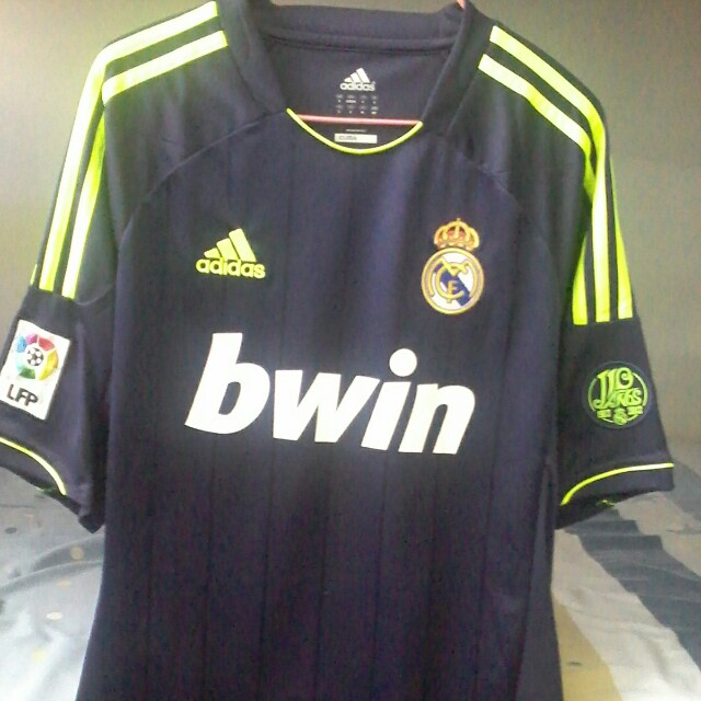 417995bb9 Authentic Real Madrid Away Jersey (2012-2013)