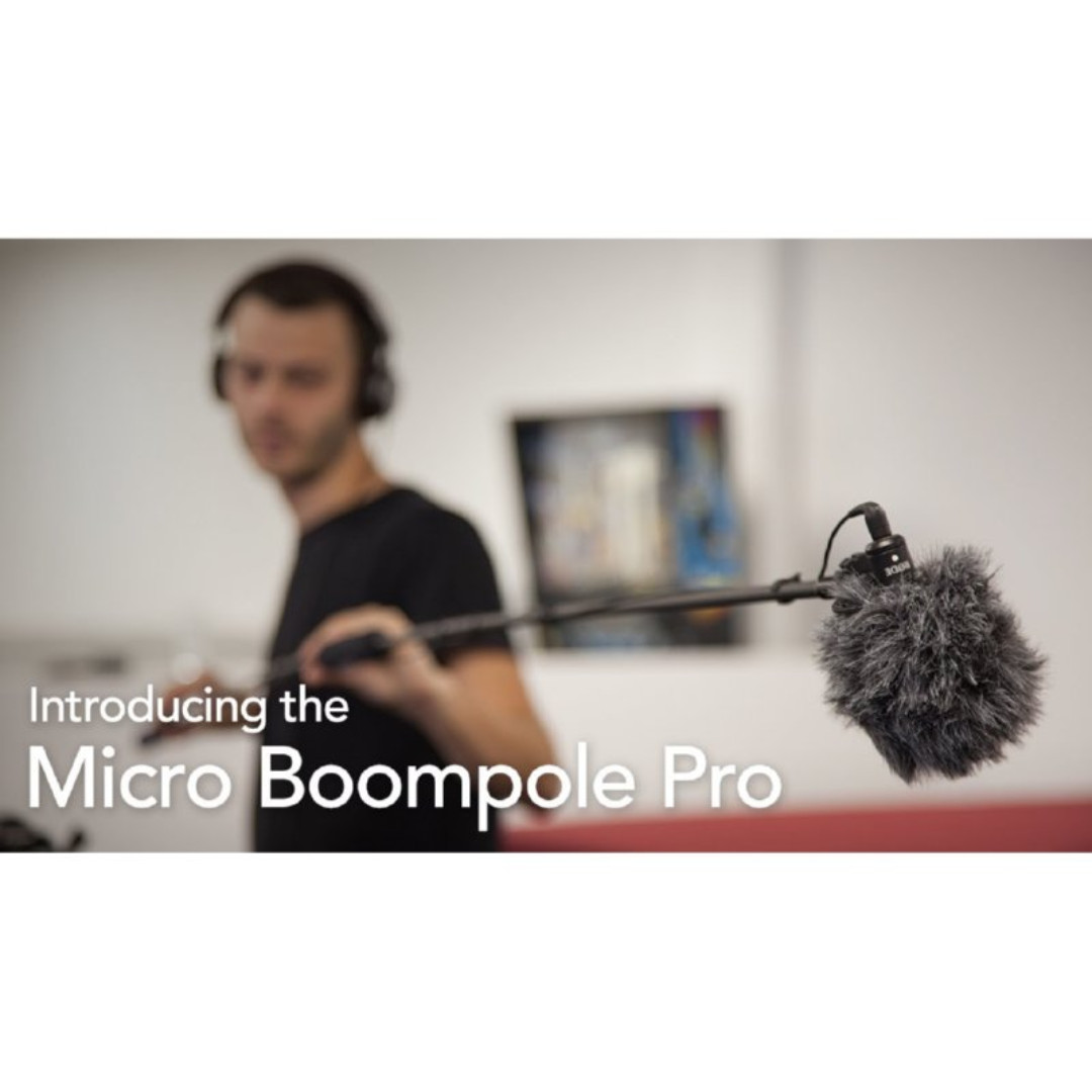 Rode Micro Boompole Pro 22m Boom Pole For Videomic Video Mic Go Videomicro Stereo X Photography On Carousell