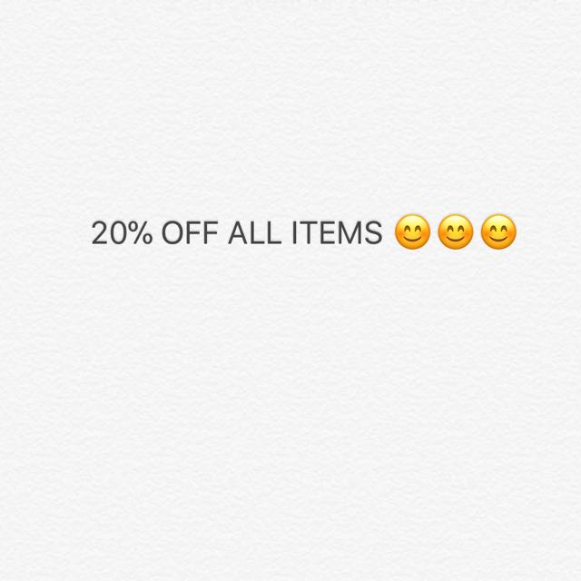 SALE! MUST GO! 😊