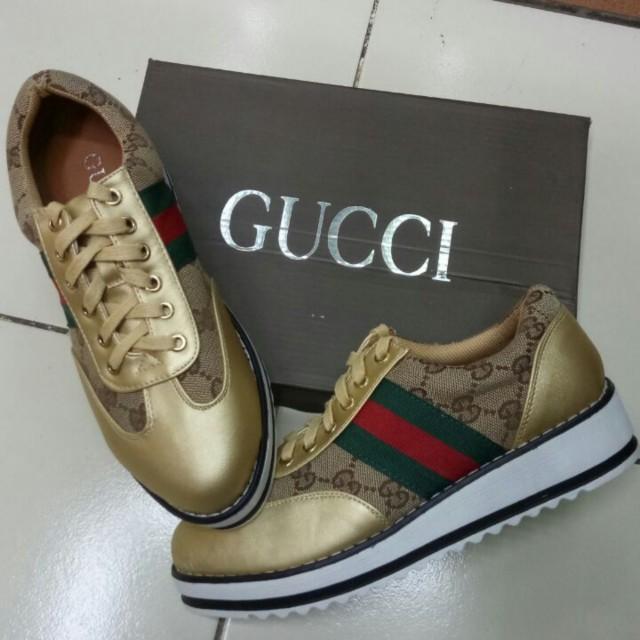 Sepatu gucci sneakers import, Olshop