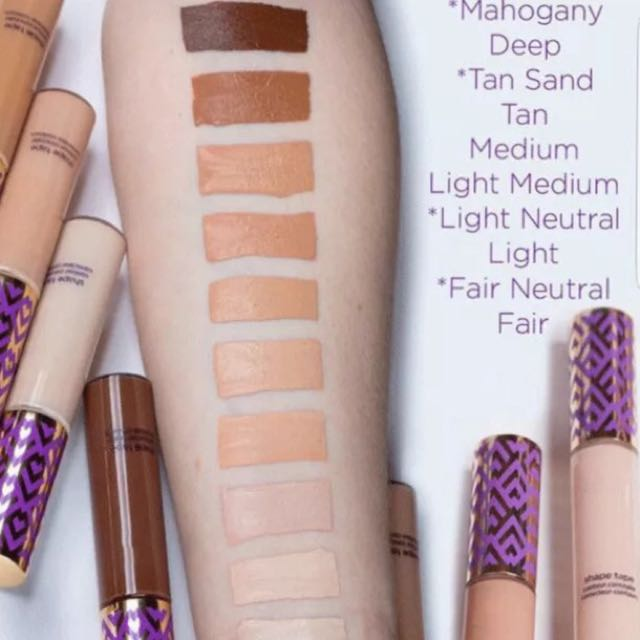 Shape tape concealers