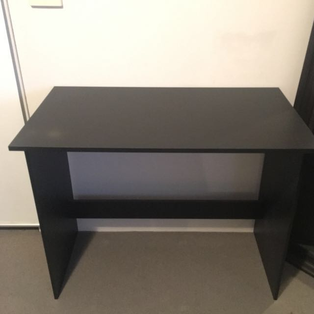 Small Black Desk Barely Used