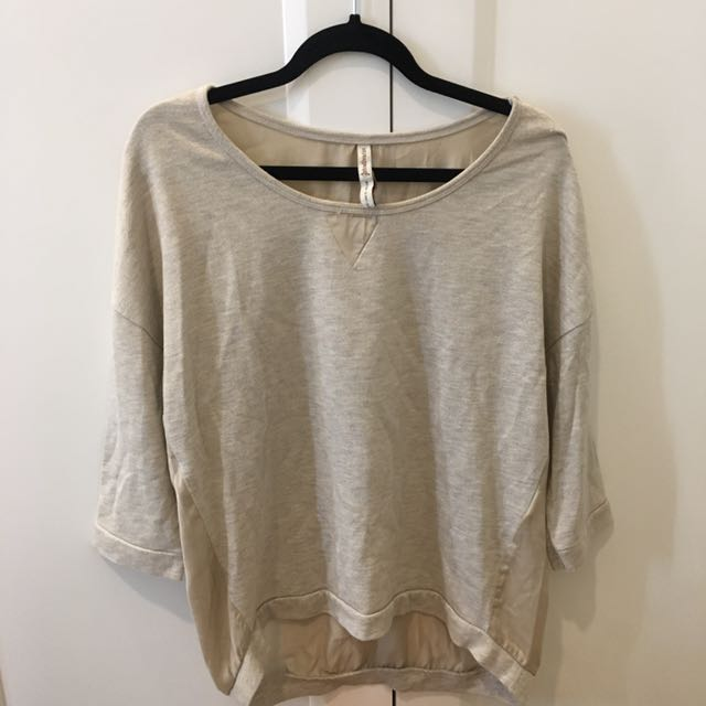 Stradivarius cream top