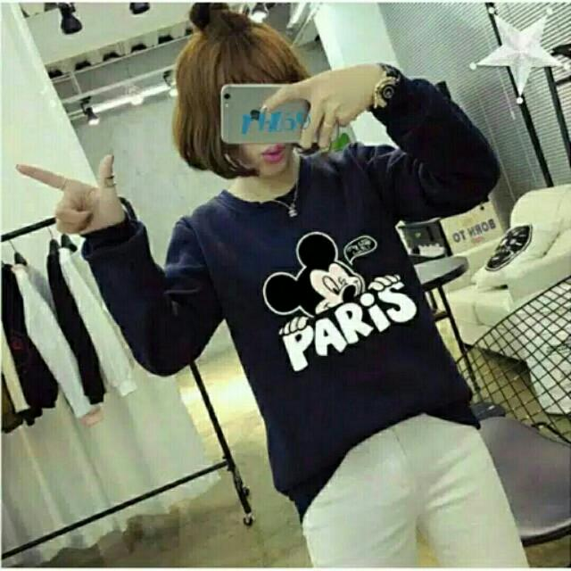 Sweater Mickey Paris