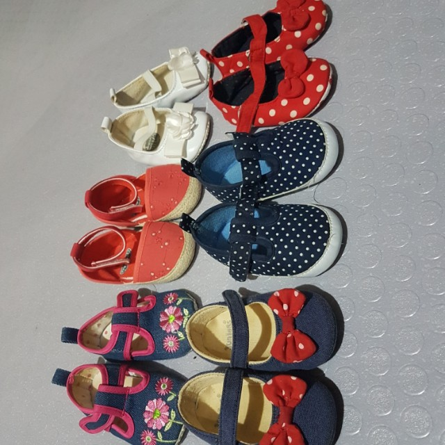 Take all ( 6pairs)Baby girl shoes