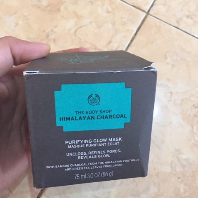 The Body Shop Himalayan Charcoal Masker / Mask