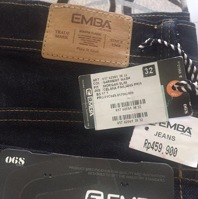 Turun harga!! Celana panjang pria Jeans NEW