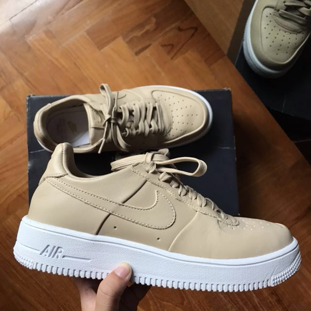 "94de2607cd7 UK 6 US 7 Nike Air Force 1 Ultra Force Low ""Vachetta Tan"""