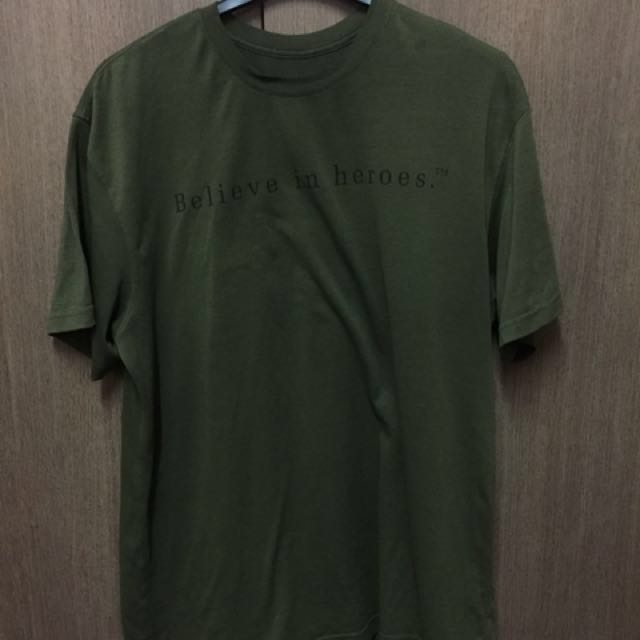 Under armor tshirt green army XL