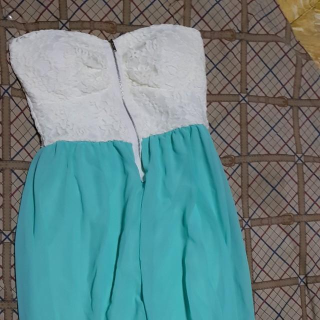 US bought Long back tube dress