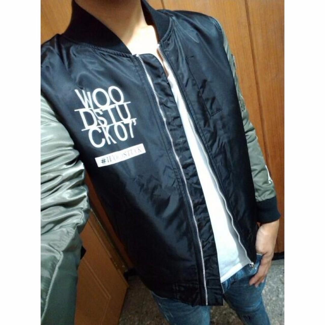 【降價售】WDSK MA1 印花外套