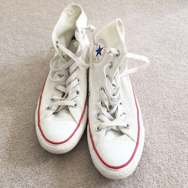 White Converse size 6.5 Eur 37 Great condition