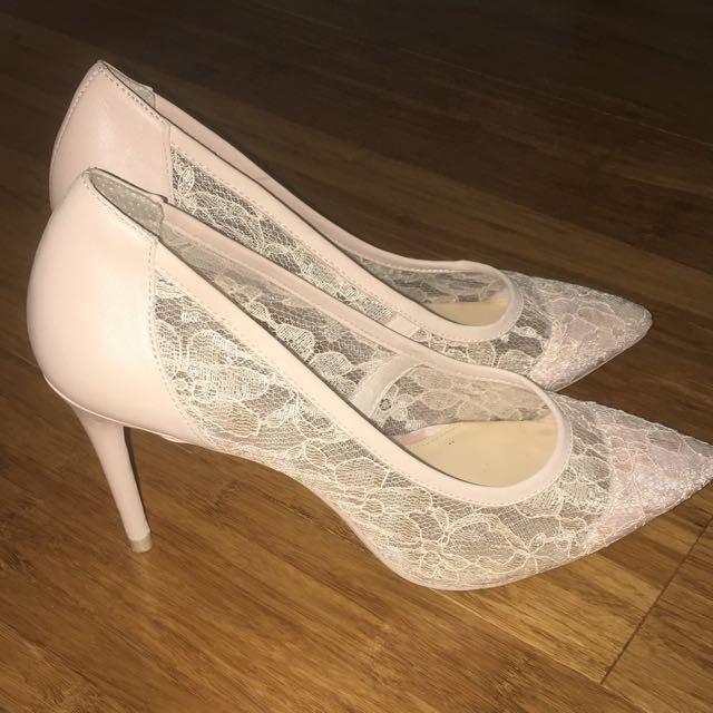 Wittner Lace Heels