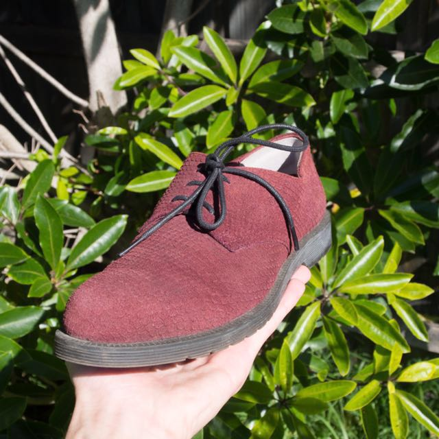 Wittner real leather suede shoes