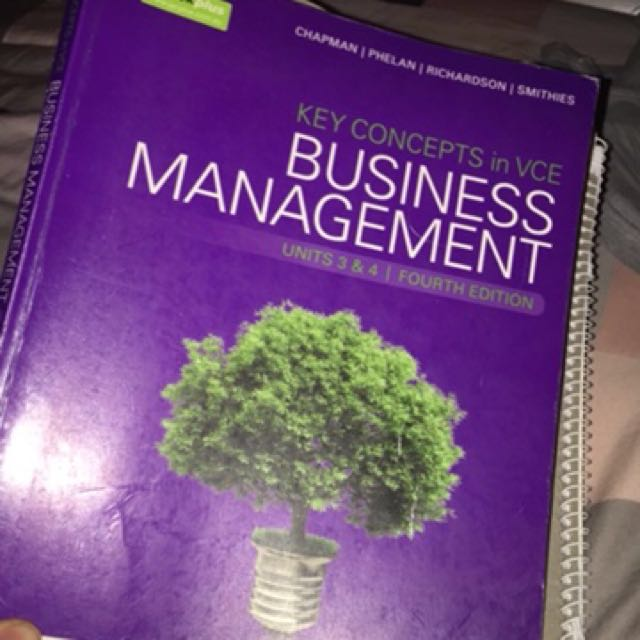 Year 12 Business textbook