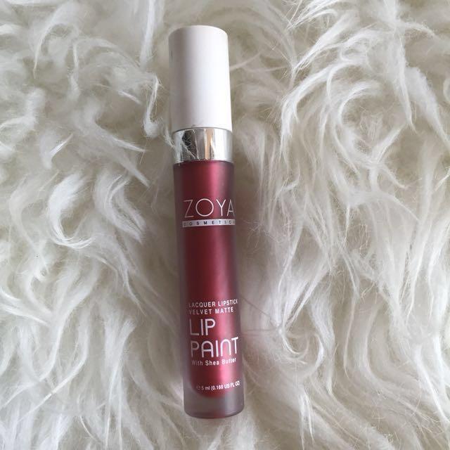 Zoya lip paint shimer limited editions