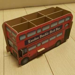 倫敦巴士筆筒 London bus stationary holder
