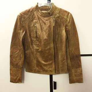 [全新四折]Ben Sherman Lamb Leather Jacket羊皮真皮褸