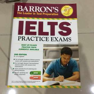Barron's IELTS Practice Exams 2nd Edition
