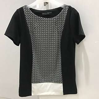 Dorothy Perkins Black/White Top